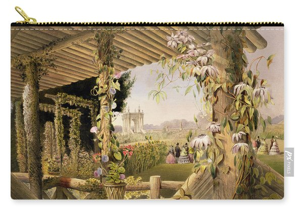 View From The Rustic Seat Shrublands Carry-all Pouch