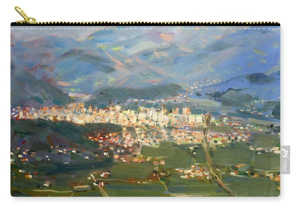 View Of Elbasan City Carry-all Pouch