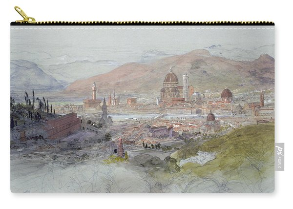 View Of Florence Carry-all Pouch