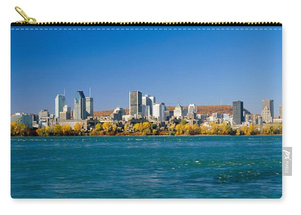 View Of Montreal Skyline And The Saint Carry-all Pouch