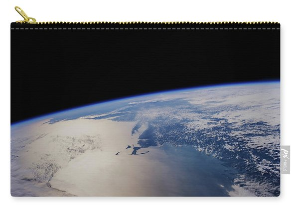 View Of Planet Earth From Space Showing Carry-all Pouch
