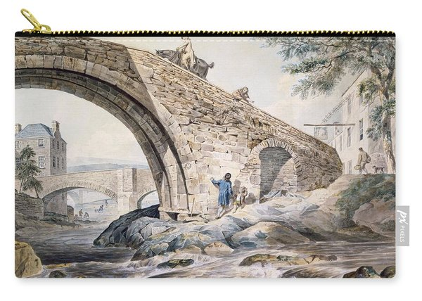 View Of The Bridges At Haywick Carry-all Pouch