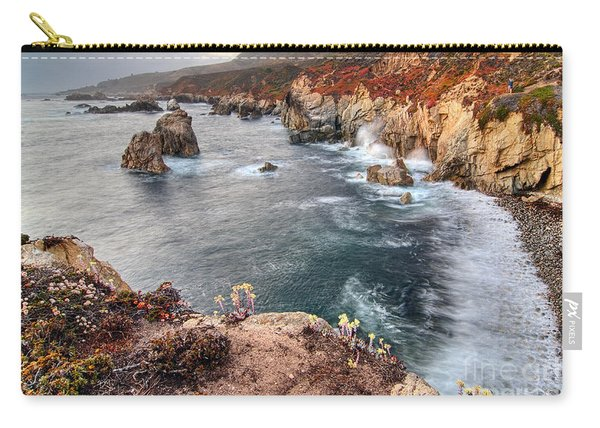 View Of The Rocky Coast From Soberanes Point In Garrapata State  Carry-all Pouch