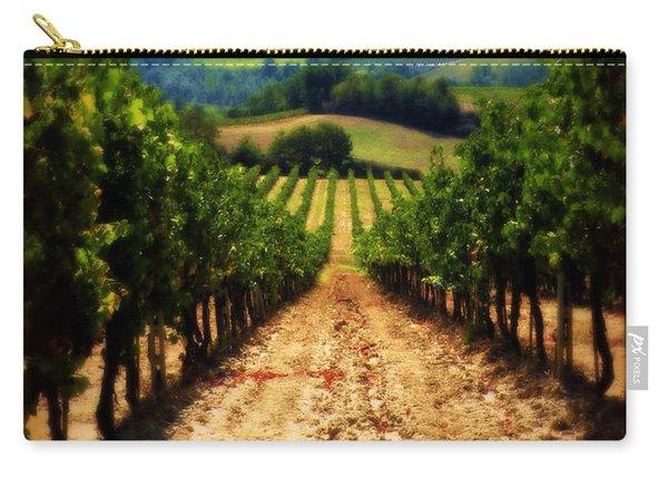 Vigneto Toscana Carry-all Pouch