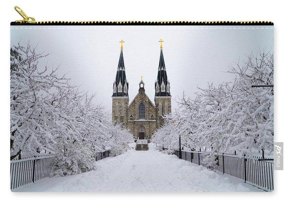 Villanova University In The Snow Carry-all Pouch