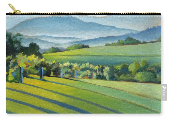 Vineyard Blue Ridge On Buck Mountain Road Virginia Carry-all Pouch