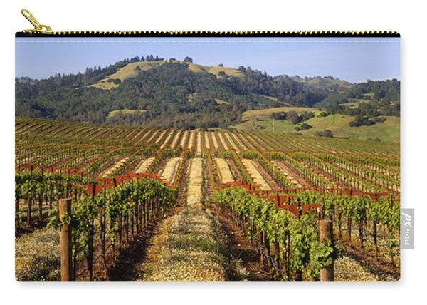 Vineyard, Geyserville, California, Usa Carry-all Pouch