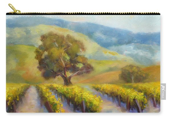 Vineyard Gold Carry-all Pouch