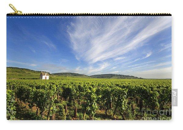 Vineyard Hut. Vineyard. Cote De Beaune. Burgundy. France. Europe Carry-all Pouch