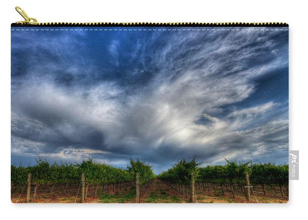 Vineyard Storm Carry-all Pouch
