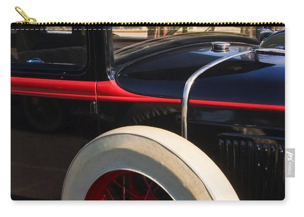 Carry-all Pouch featuring the photograph Vintage Car by Susan Leonard