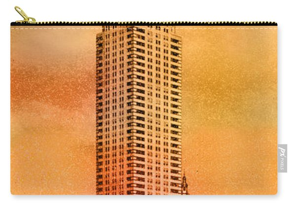 Vintage Chrysler Building Carry-all Pouch