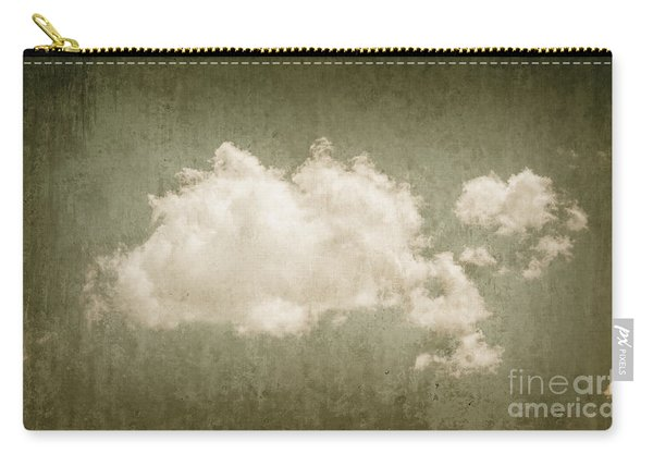 Vintage Clouds Background Carry-all Pouch
