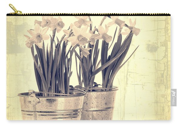 Vintage Daffodils Carry-all Pouch