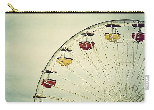 Vintage Ferris Wheel Carry-all Pouch