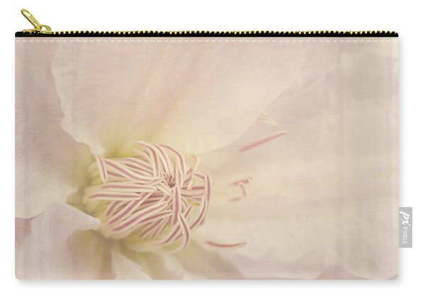 Vintage Flower Art - A Beautiful Place Carry-all Pouch