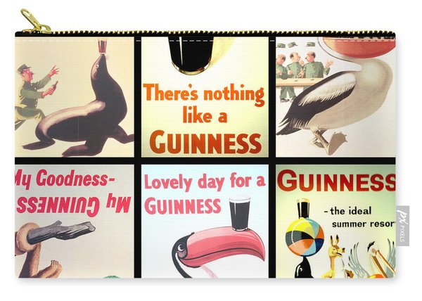 Vintage Guinness  Carry-all Pouch