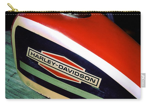 Vintage Harley Davidson Gas Tank Carry-all Pouch