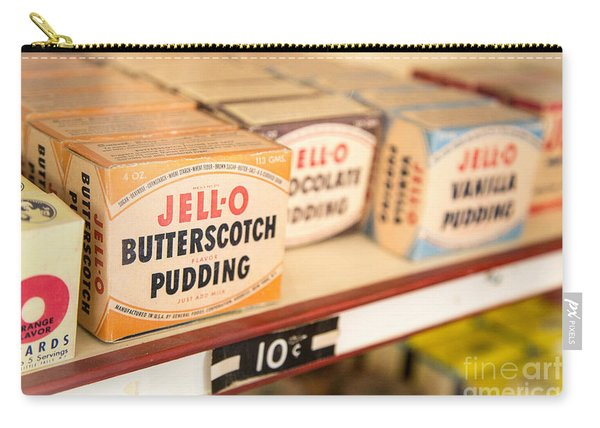 Vintage Jell-o Butterscotch Pudding Carry-all Pouch