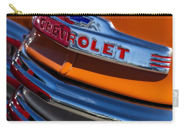 Vintage Orange Chevrolet Carry-all Pouch