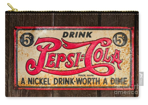 Vintage Pepsi Cola Ad Carry-all Pouch