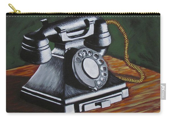 Vintage Phone 2 Carry-all Pouch