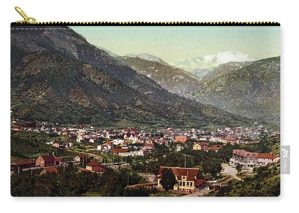 Vintage Photograph Of Manitou Springs Colorado - 1902 Carry-all Pouch