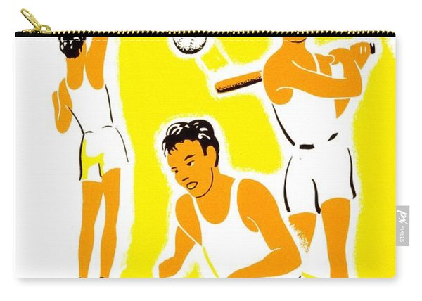 Vintage Poster - Wpa - Athletics 1 Carry-all Pouch