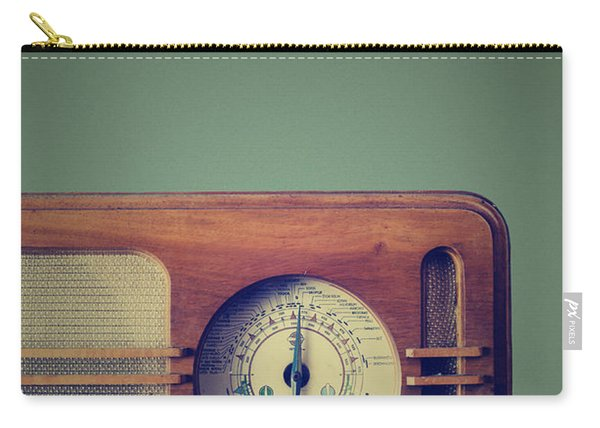 Vintage Radio Carry-all Pouch