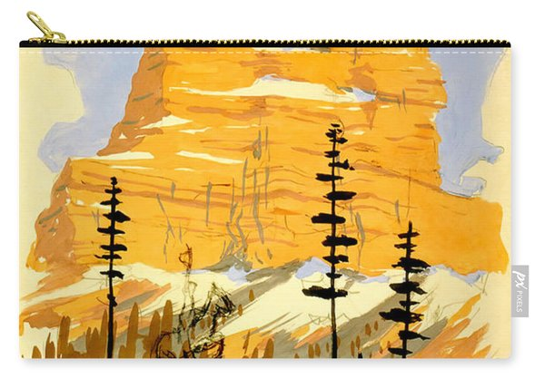 Vintage See America Travel Poster Carry-all Pouch