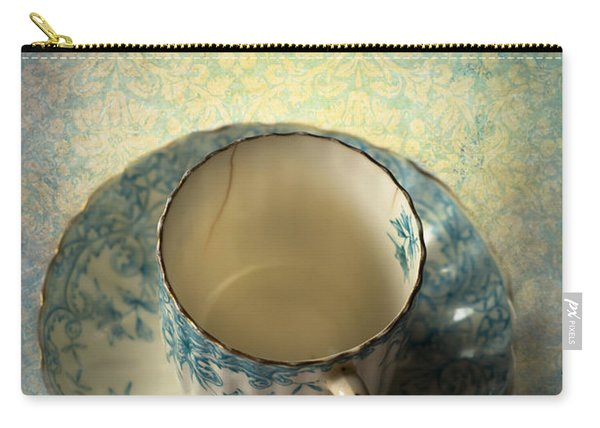 Vintage Tea Cup Carry-all Pouch