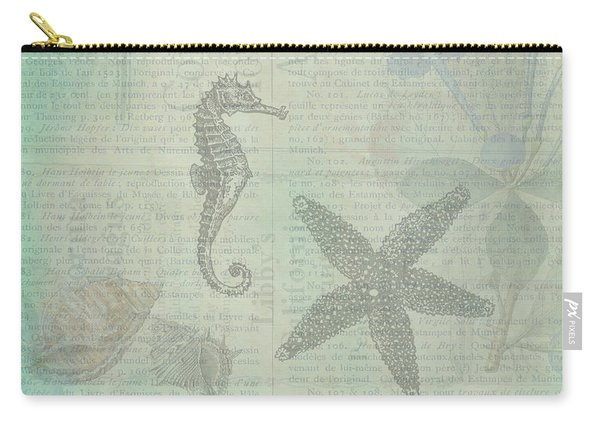 Vintage Under The Sea Carry-all Pouch
