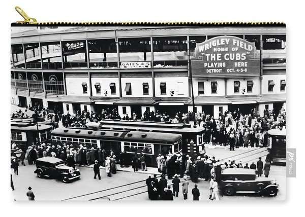 Vintage Wrigley Field Carry-all Pouch