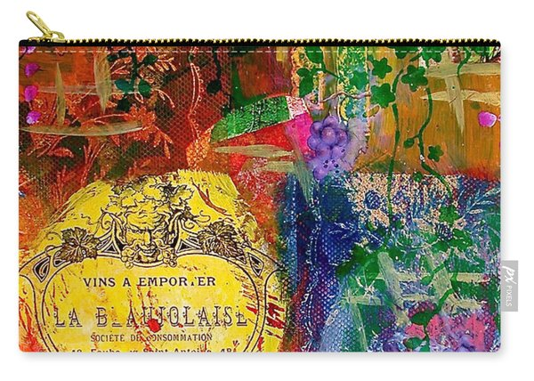 Vintner Label Carry-all Pouch