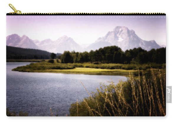 Violet Tetons Carry-all Pouch