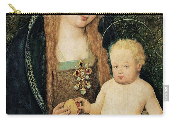 Virgin And Child With Pomegranate Carry-all Pouch