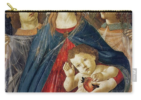 Virgin Of The Pomegranate Carry-all Pouch