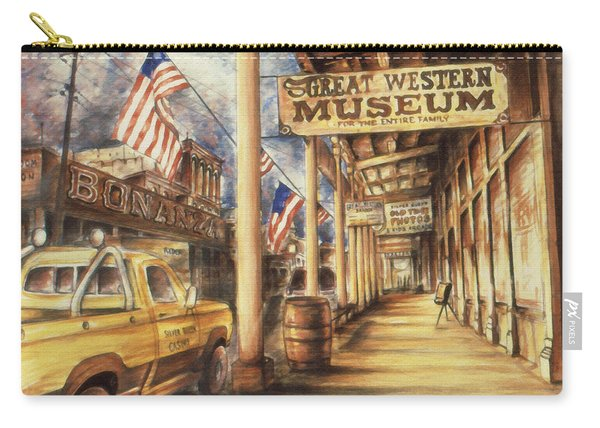 Virginia City Nevada - Western Art Painting Carry-all Pouch