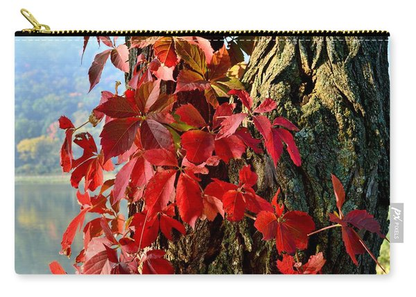 Virginia Creeper Carry-all Pouch