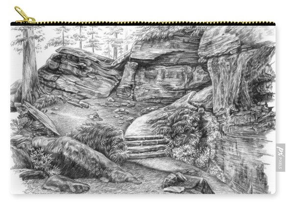 Virginia Kendall Ledges - Cuyahoga Valley National Park Carry-all Pouch