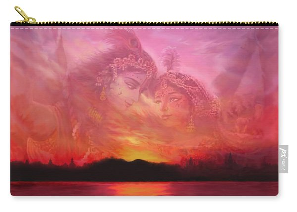 Vision Over The Yamuna Carry-all Pouch