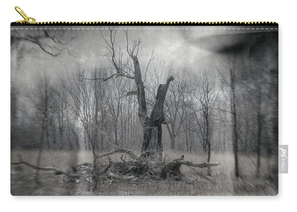 Visitor In The Woods Carry-all Pouch