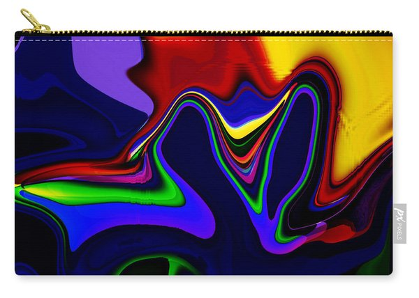 Vivacity  - Abstract  Carry-all Pouch