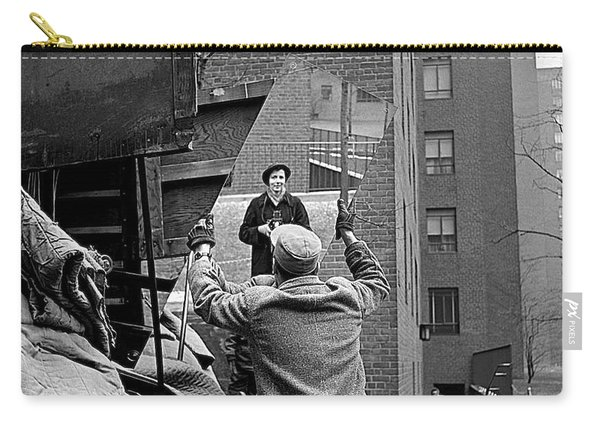 Vivian Maier Self Portrait Probably Taken In Chicago Illinois 1955 Carry-all Pouch