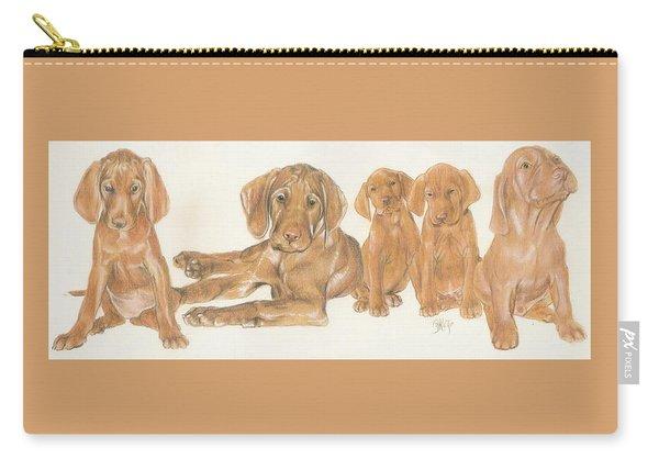 Vizsla Puppies Carry-all Pouch