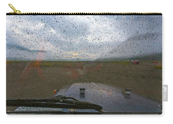 Volcanic Dust At Car Carry-all Pouch