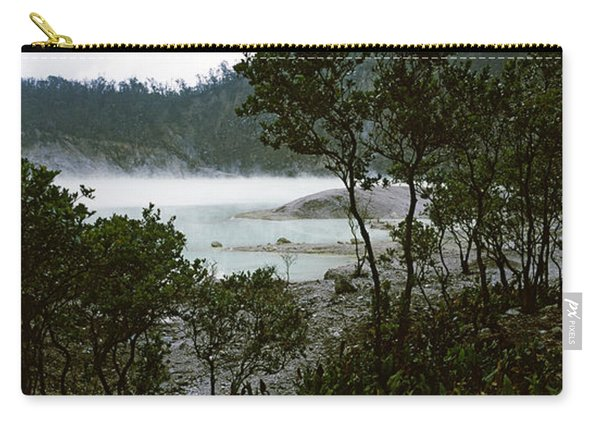 Volcanic Lake In A Forest, Kawah Putih Carry-all Pouch