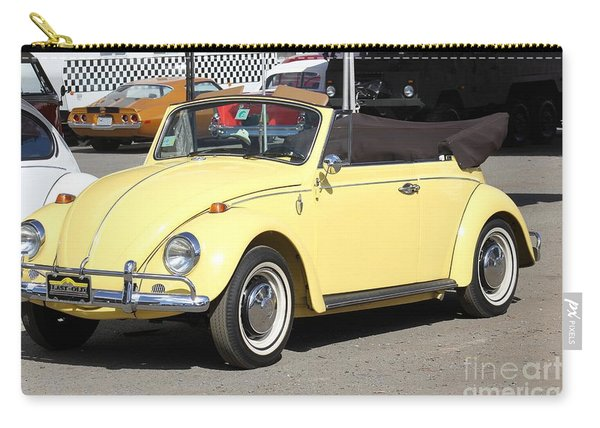 Volkswagen Convertible Vintage Carry-all Pouch