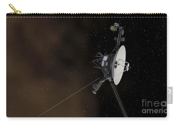 Voyager 1 Spacecraft Entering Carry-all Pouch