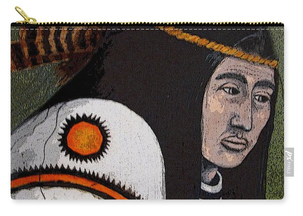 Wabanaki Warrior Carry-all Pouch